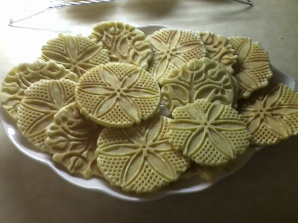 Plain Vanilla Pizzelles